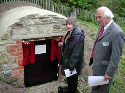 Opening of refurbished Ice House at Summerfields in 2005