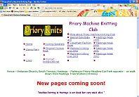 Hastings machine Knitting Club - Priory Knits