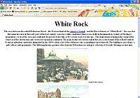 White Rock, Hastings